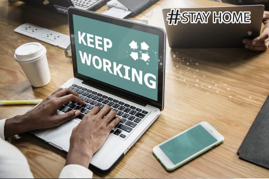 keep work Coronavirus Outbreak -easyfie.com